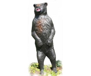 sagoma 3d orso bruno in piedi